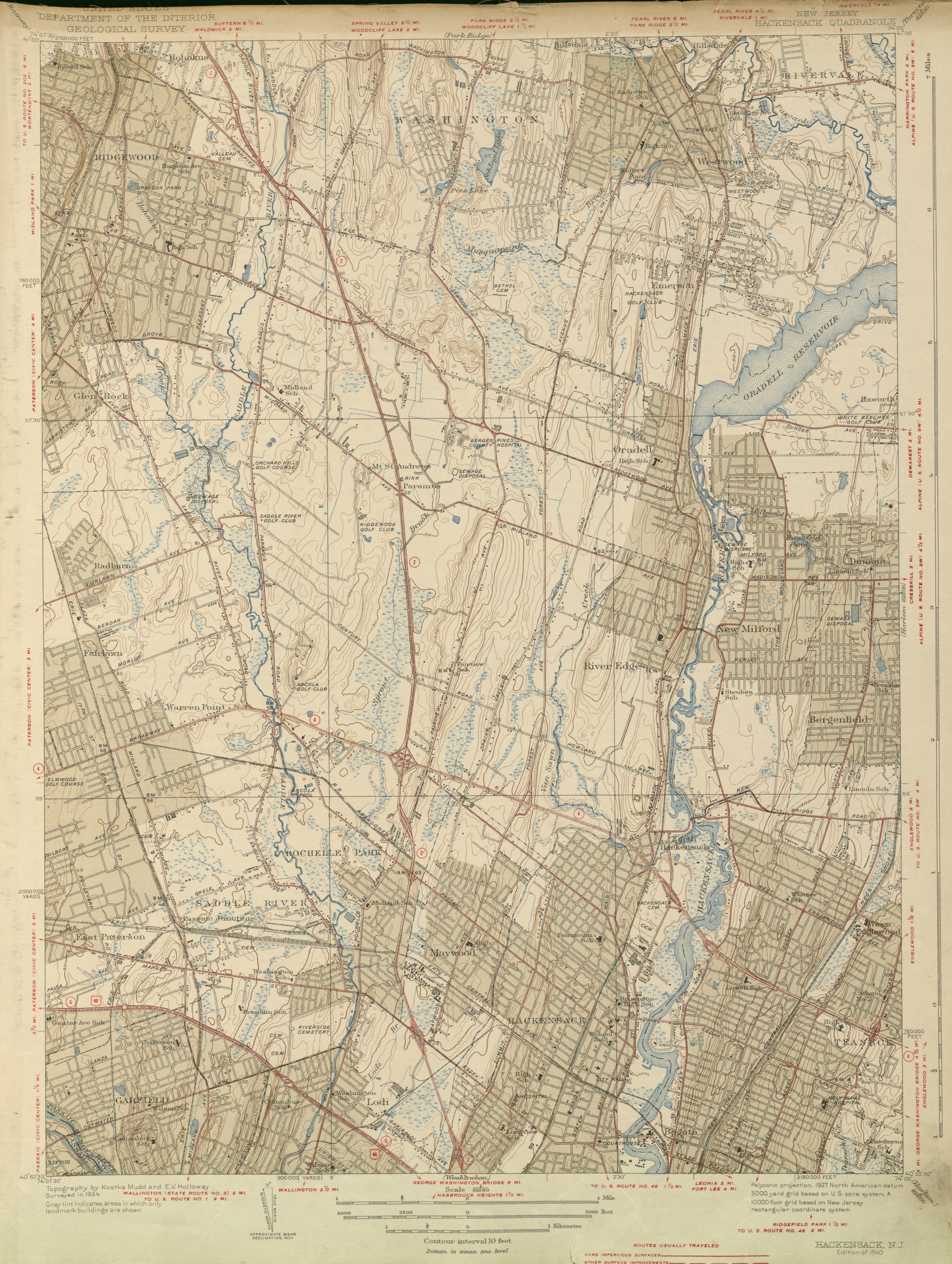 United States Geological Survey of New Jersey | Barbara and Leonard ...