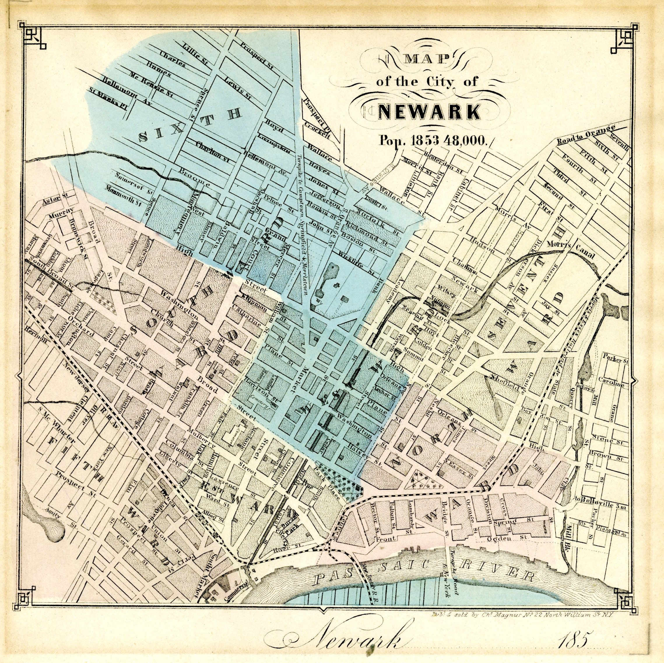 Maps in the Littman Library and Newark Public Library Barbara and